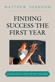 Finding Success the First Year (eBook, ePUB)