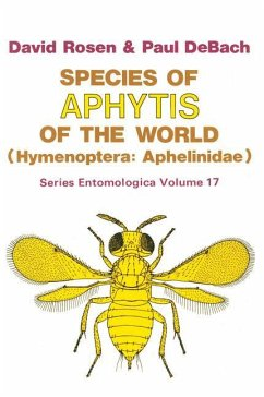 Species of Aphytis of the World - Rosen, David; DeBach, P.