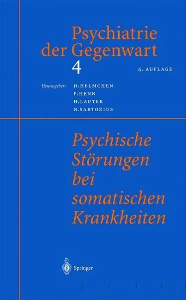 Psychiatrie der gegenwart 4 fachbuch for Hanfried helmchen