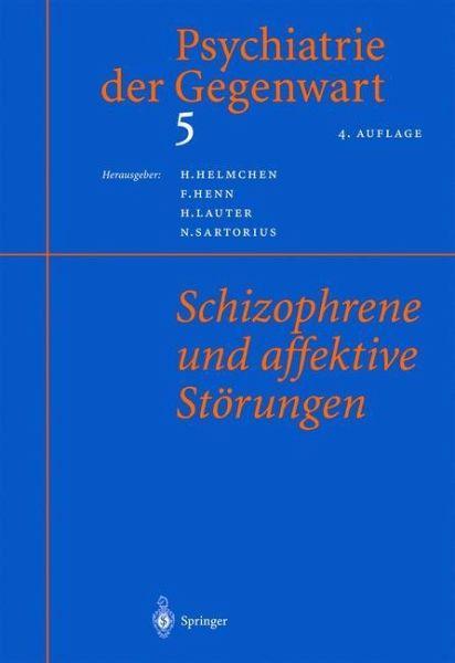 Psychiatrie der gegenwart 5 fachbuch for Hanfried helmchen