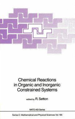 Chemical Reactions in Organic and Inorganic Constrained Systems