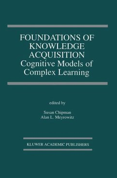 Foundations of Knowledge Acquisition