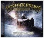 Sherlock Holmes Phantastik - Die unsichtbare Wand, 2 Audio-CDs