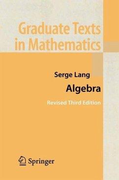 Algebra - Lang, Serge