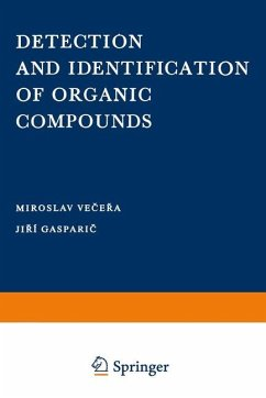 Detection and Identification of Organic Compounds - Vecera, Miroslov