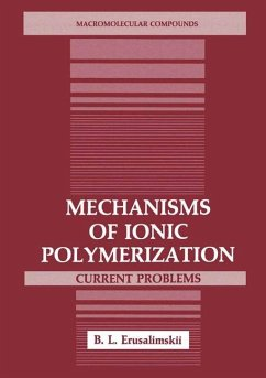 Mechanisms of Ionic Polymerization