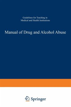 Manual of Drug and Alcohol Abuse