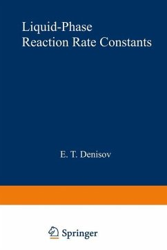 Liquid-Phase Reaction Rate Constants