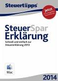 Steuer-Spar-Erklärung 2014 - Mac-Version (für das Steuerjahr 2103)
