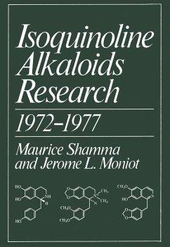 Isoquinoline Alkaloids Research 1972-1977