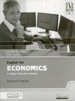 English for Economics in Higher Education Studies Teacher Book - Roberts, Mark