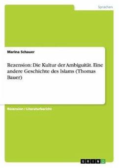 Rezension: Die Kultur der Ambiguität. Eine ande...