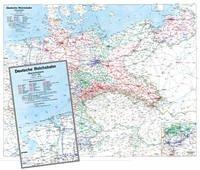 Historische Übersichtskarte: Deutschland 1938 -...