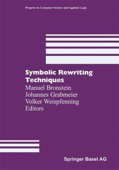 Symbolic Rewriting Techniques