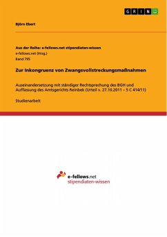 Zur Inkongruenz von Zwangsvollstreckungsmaßnahmen (eBook, PDF)