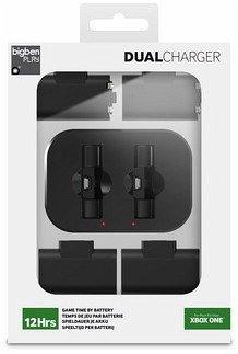 DUAL CHARGER, Dual-Akku-Ladestation für 2 Controller, für XBOX ONE