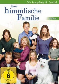 Eine himmlische Familie - Die komplette 4. Staffel DVD-Box - Jessica Biehl/Stephen Collins