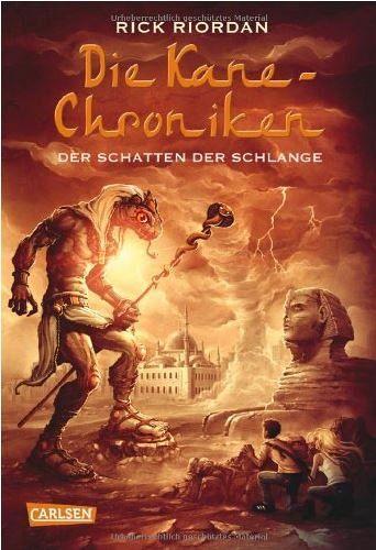 Buch-Reihe Kane-Chroniken von Rick Riordan