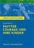 Mutter Courage und ihre Kinder von Bertolt Brecht. (eBook, PDF)