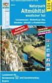 Topographische Karte Bayern Naturpark Altmühltal, Westlicher Teil