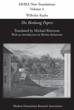 Wilhelm Raabe: 'the Birdsong Papers'