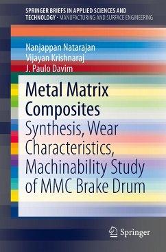 Metal Matrix Composites - Natarajan, N.; Krishnaraj, Vijayan; Davim, João Paulo