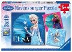 Ravensburger 092697 - Elsa, Anna und Olaf