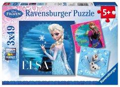 Die Eiskönigin - Völlig unverfroren, Elsa, Anna & Olaf (Kinderpuzzle)