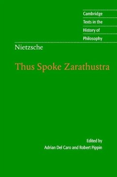 Nietzsche: Thus Spoke Zarathustra (eBook, ePUB)