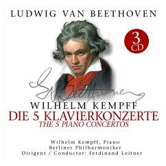 Beethoven:5 Klavierkonzerte-5 Klavierkonzerte - Beethoven,L.Van-Kempff,Wilhelm
