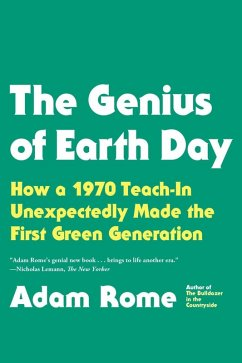 The Genius of Earth Day (eBook, ePUB) - Rome, Adam