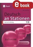 Deutsch an Stationen Spezial Rechtschreibung 7-8 (eBook, PDF)