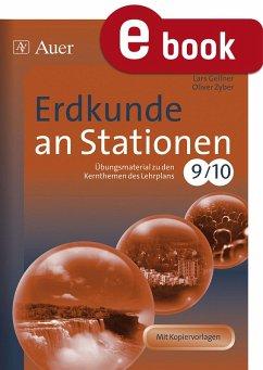 Erdkunde an Stationen 9-10 (eBook, PDF) - Zyber, Oliver; Gellner, Lars