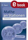 Mathe an Stationen Grundrechenarten (eBook, PDF)