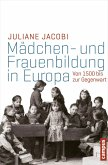 Mädchen- und Frauenbildung in Europa (eBook, ePUB)