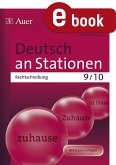 Deutsch an Stationen. Rechtschreibung 9-10 (eBook, PDF)