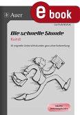 Die schnelle Stunde Kunst (eBook, PDF)
