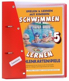 Schwimmen lernen 05. Zahlenkartenspiele, laminiert - Aretz, Veronika