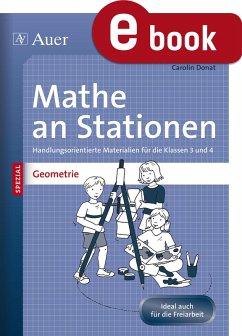 Mathe an Stationen SPEZIAL Geometrie 3-4 (eBook, PDF) - Donat, Carolin