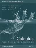 Student Solutions Manual to Accompany Calculus for Life Sciences