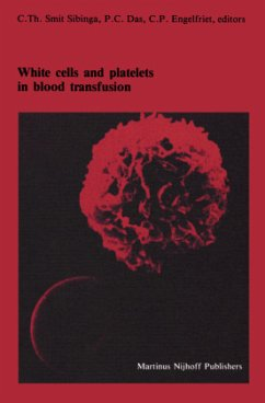 White cells and platelets in blood transfusion
