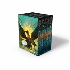 Percy Jackson and the Olympians 5 Book Paperback Boxed Set (New Covers W/Poster) - Riordan, Rick