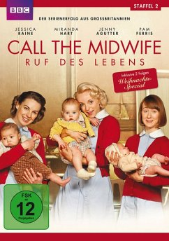 Call the Midwife - Ruf des Lebens - Staffel 2 DVD-Box - Vanessa Redgrave,Jessica Raine,Pam Ferris