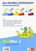 Mathematik Minimax. Schülerpaket 3. Schuljahr Verbrauchsmaterial