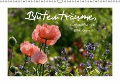Blütenträume (Wandkalender immerwährend DIN A3 quer)