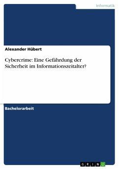 Cybercrime: Eine Gefährdung der Sicherheit im Informationszeitalter? (eBook, PDF)