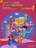 Spiel und Spaß mit der Blockflöte, Spielbuch für Sopran-Blockflöte mit verschiedenen Instrumenten