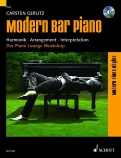 Modern Bar Piano, Klavier, m. Audio-CD - Gerlitz, Carsten