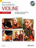 Spielbuch 1, mit Audio-CD / Die fröhliche Violine