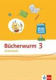 Bücherwurm Sprachbuch 3. Ausgabe Berlin, Brandenburg, Mecklenburg-Vorpommern, Sachsen, Sachsen-Anhalt, Thüringen